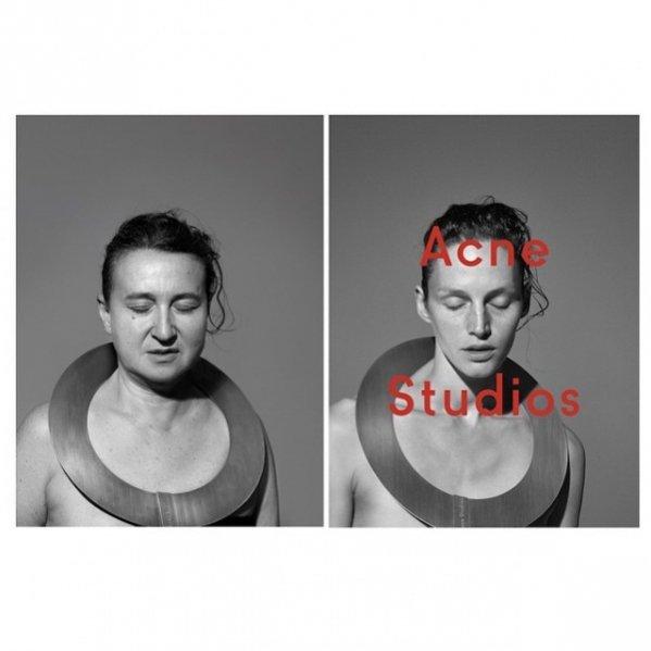1. Kampania Acne Studios jesień zima 2014/2015 według Nathalie Croquet