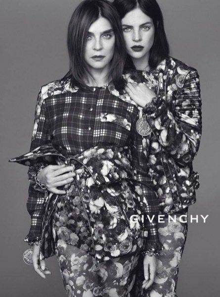 Carine Rotifeld i Julia Restoin Rotifeld w kampanii Givenchy jesień zima 2013/14