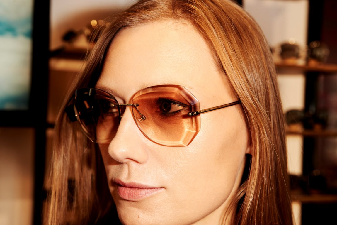 Okulary CHANEL - wybór Agaty Tanter