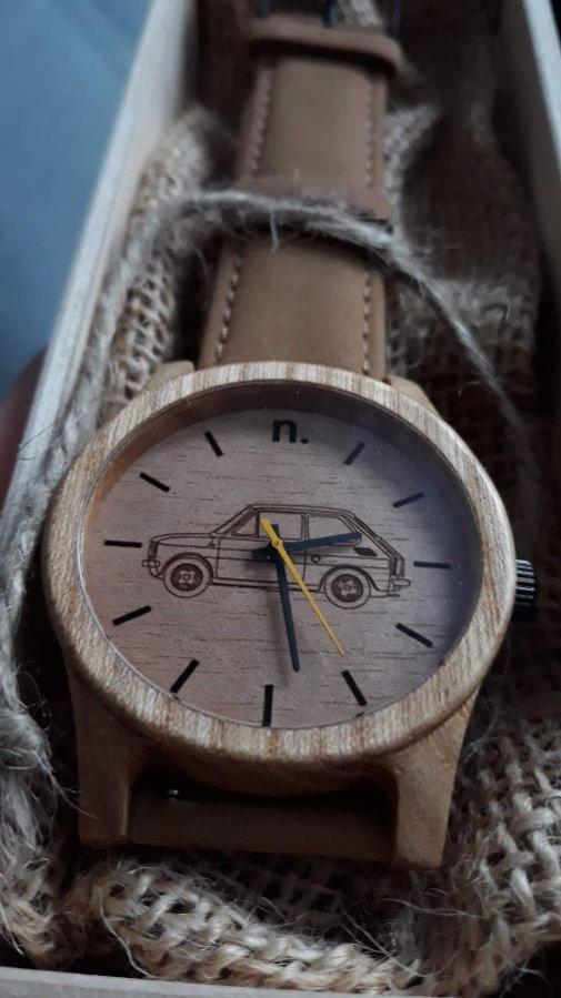 NEAT - drewniany zegarek