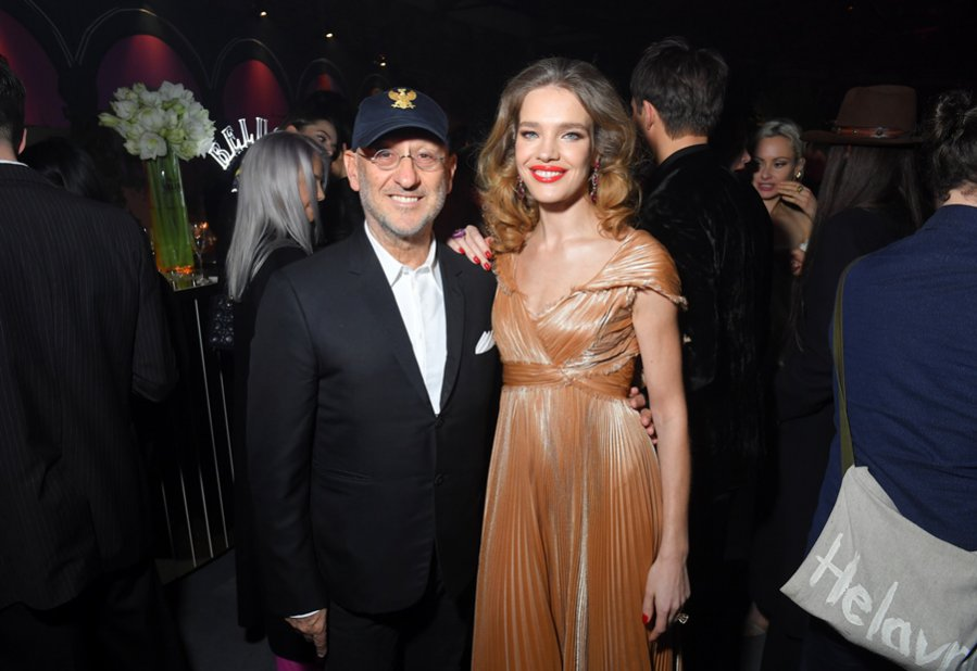 Natalia Vodianova i Andrea Panconesi