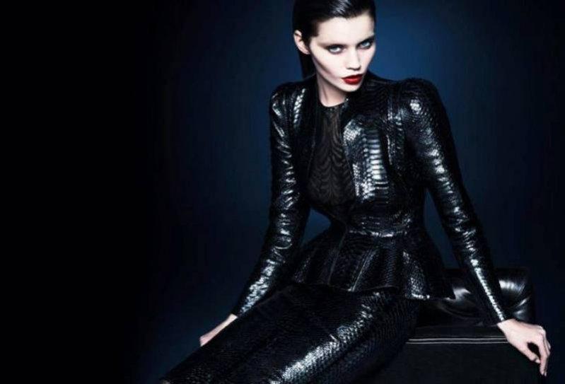 Abbey Lee Kershaw w kampanii Gucci jesień zima 2013/14