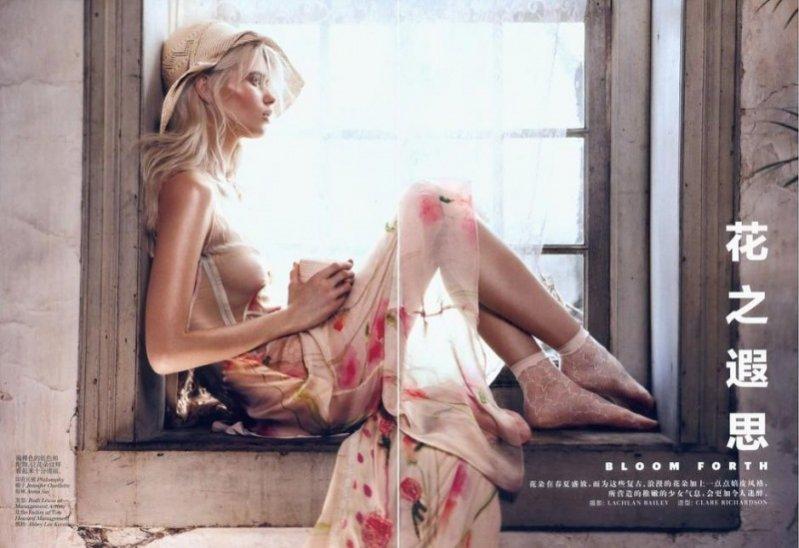 Abbey Lee Kershaw w Vogue China