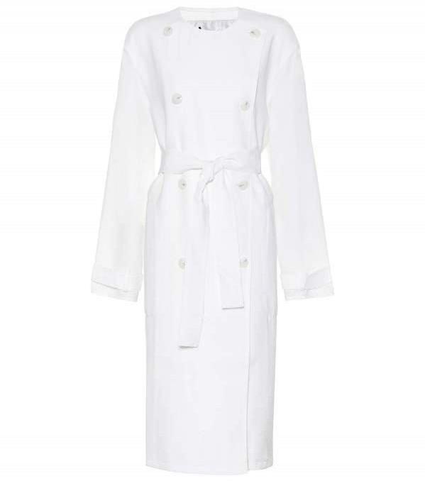 Biały płaszcz, Acne Studios, 660 euro