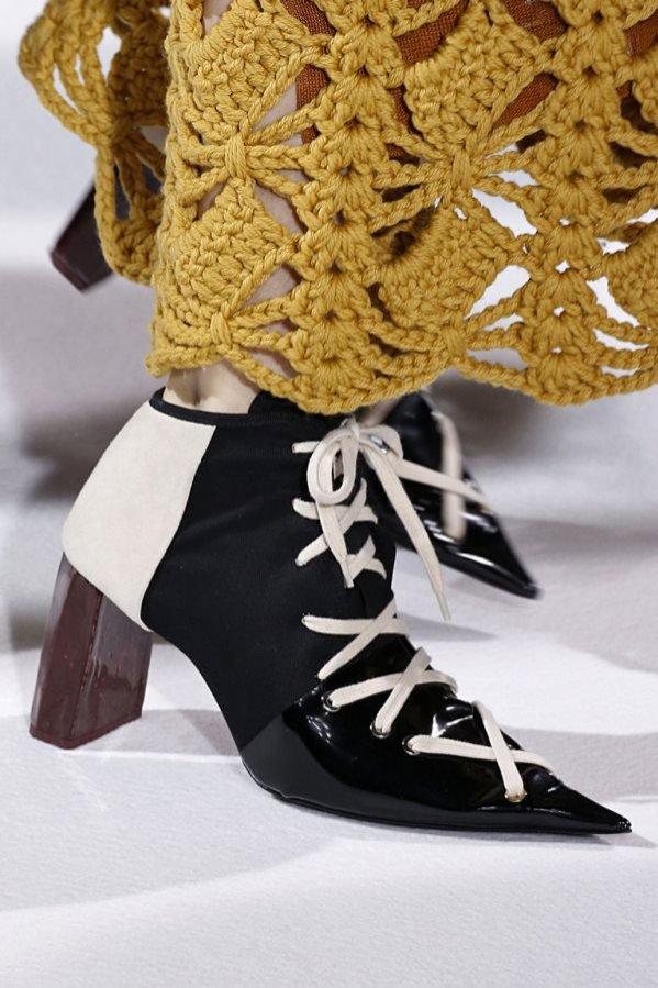 Buty z kolekcji Acne Studios AW17