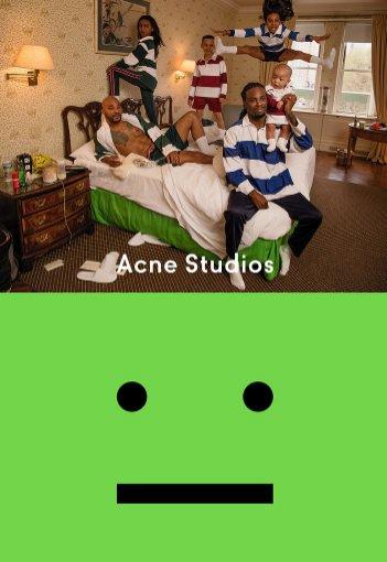 Kampania face motif, Acne Studios AW17 (1)
