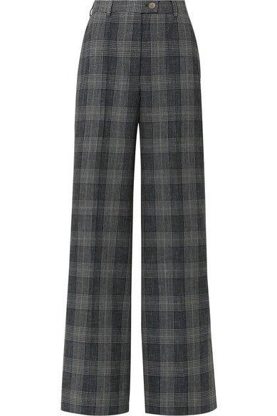 Szerokie spodnie w kratę, Acne Studios/Net-a-Porter, 340 eur