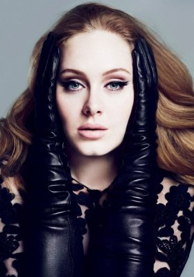 ONE AND ONLY - SESJA ADELE W MARCOWYM VOGUE UK