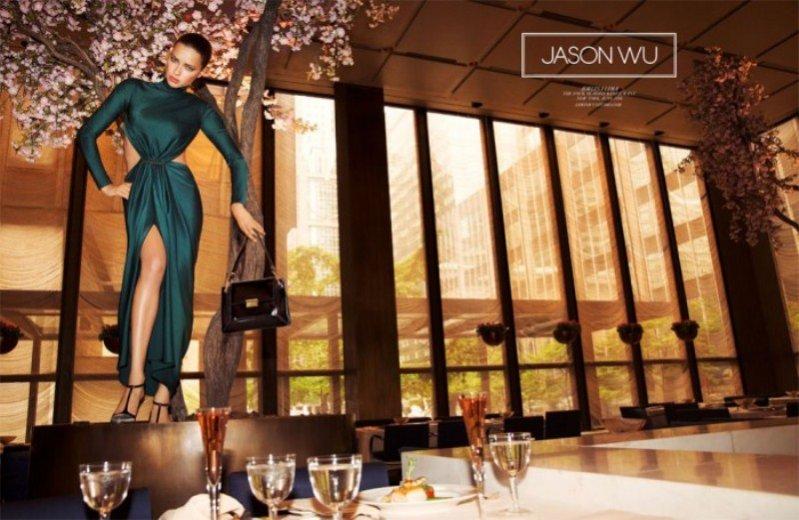 Adriana Lima w kampanii Jasona Wu jesień/zima 2014