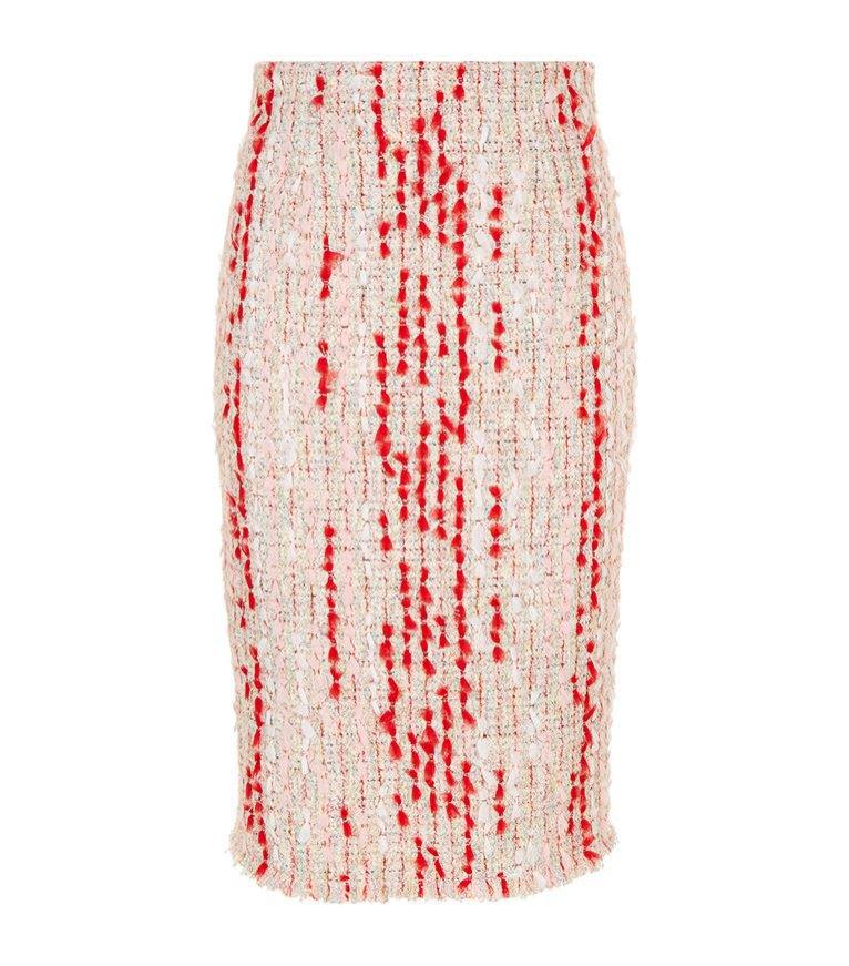 Tweedowa ołówkowa spódnica, Alexander McQueen/Harrods, 4300 pln