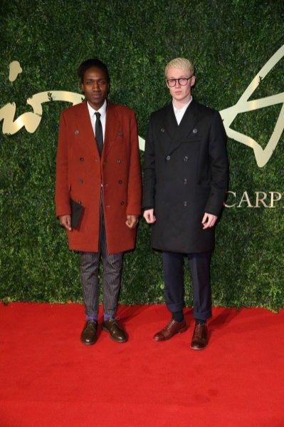 1. Agi Mdumulla i Sam Cotton (Agi & Sam) na gali British Fashion Awards 2013
