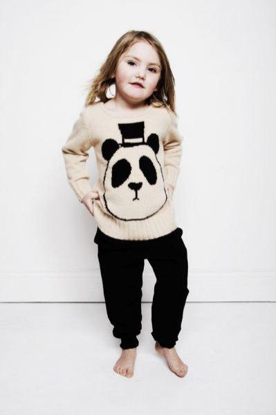 Zwierzęca kolekcja marki Mini Rodini dla dzieci na sezon jesień zima 2011