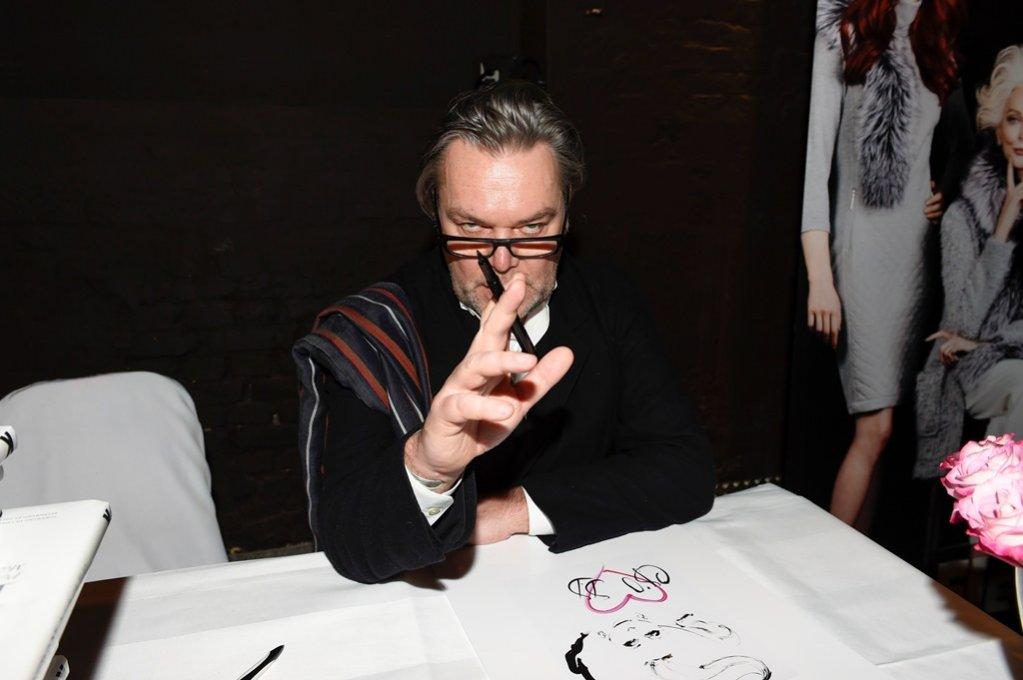 1. David Downton - autor wizerunku modelki na koszulkach z kolekcji AirField