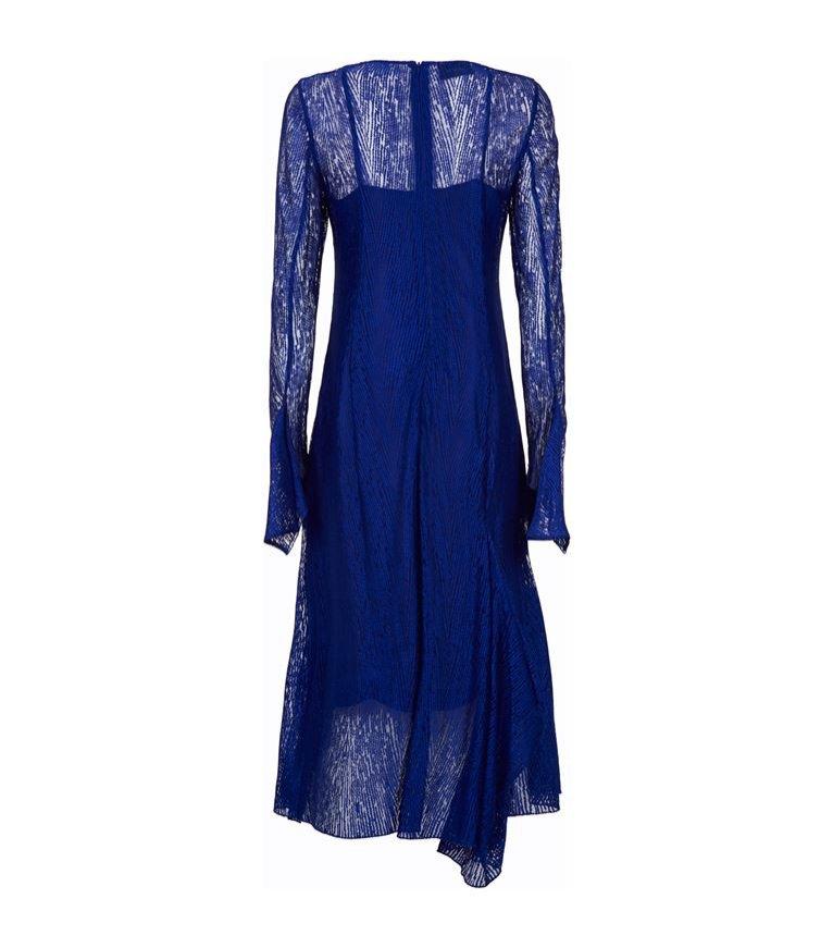 Granatowa sukienka, Akris Lace/Harrods, 18900 pln