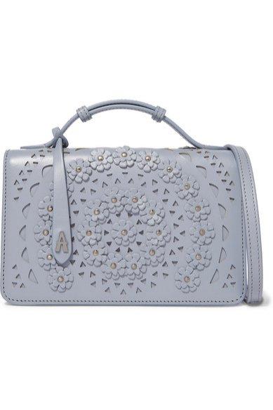 Mini torebka w odcieniu gołębim, Alaia/Net-a-Porter, 1590 eur