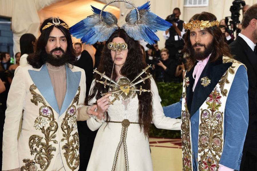 Alessandro Michele, Lana del Rey i Jared Leto w kreacjach Gucci