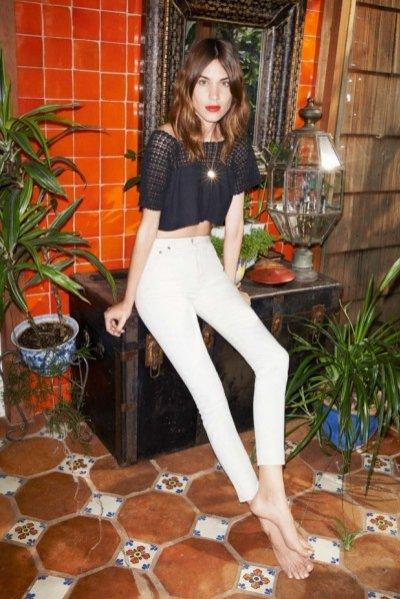 1. Alexa Chung w kampanii AG Jeans wiosna lato 2015