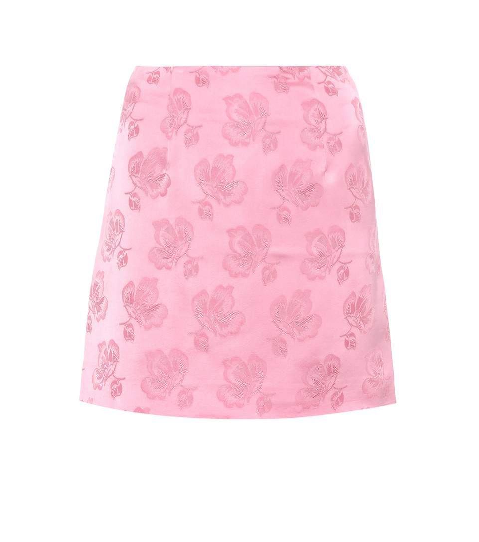 Żakardowa mini spódnica, Alexachung/Mytheresa, 160 euro
