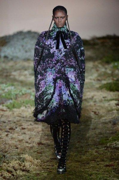 Alexander McQueen, jesień zima 2014/2015