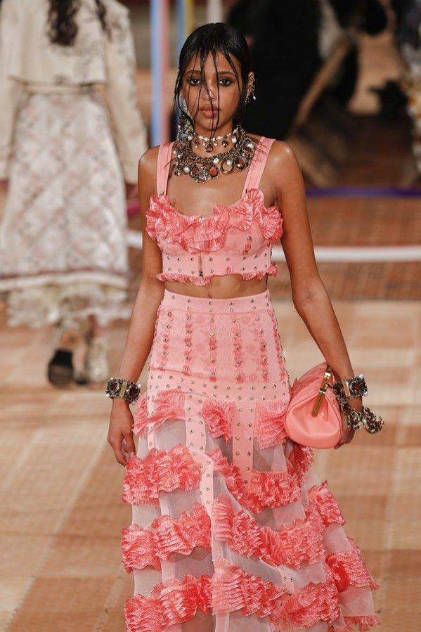 Paris Fashion Week, Alexander McQueen, SS18