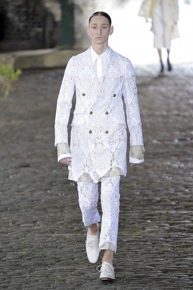 1. Alexander McQueen - męska kolekcja wiosna lato 2014