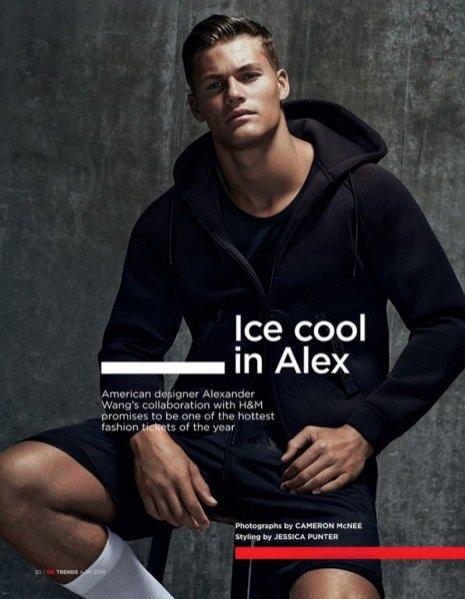 1. Alexander Wang dla H&M - męska kolekcja
