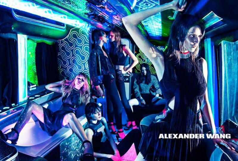 1. Alexander Wang - kampania wiosna lato 2015