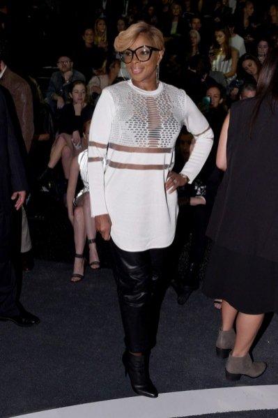 1.Mary J Blige na premierze kolekcji Alexander Wang X H&M