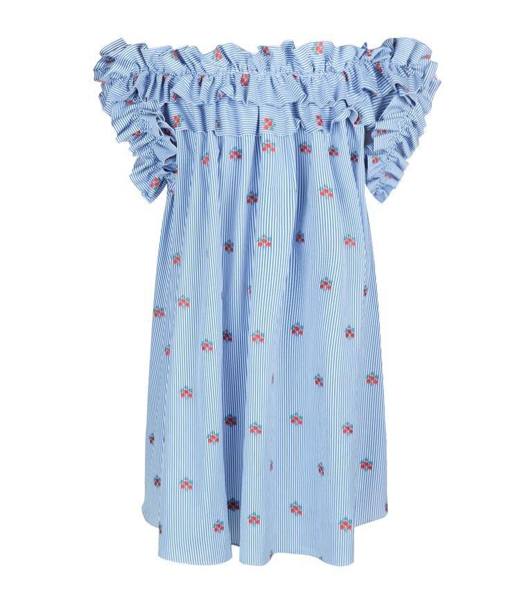 Sukienka niebieska, Alexander McQueen, 6400 pln