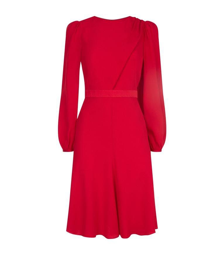 Czerwona sukienka, Alexander McQueen, 6940 pln
