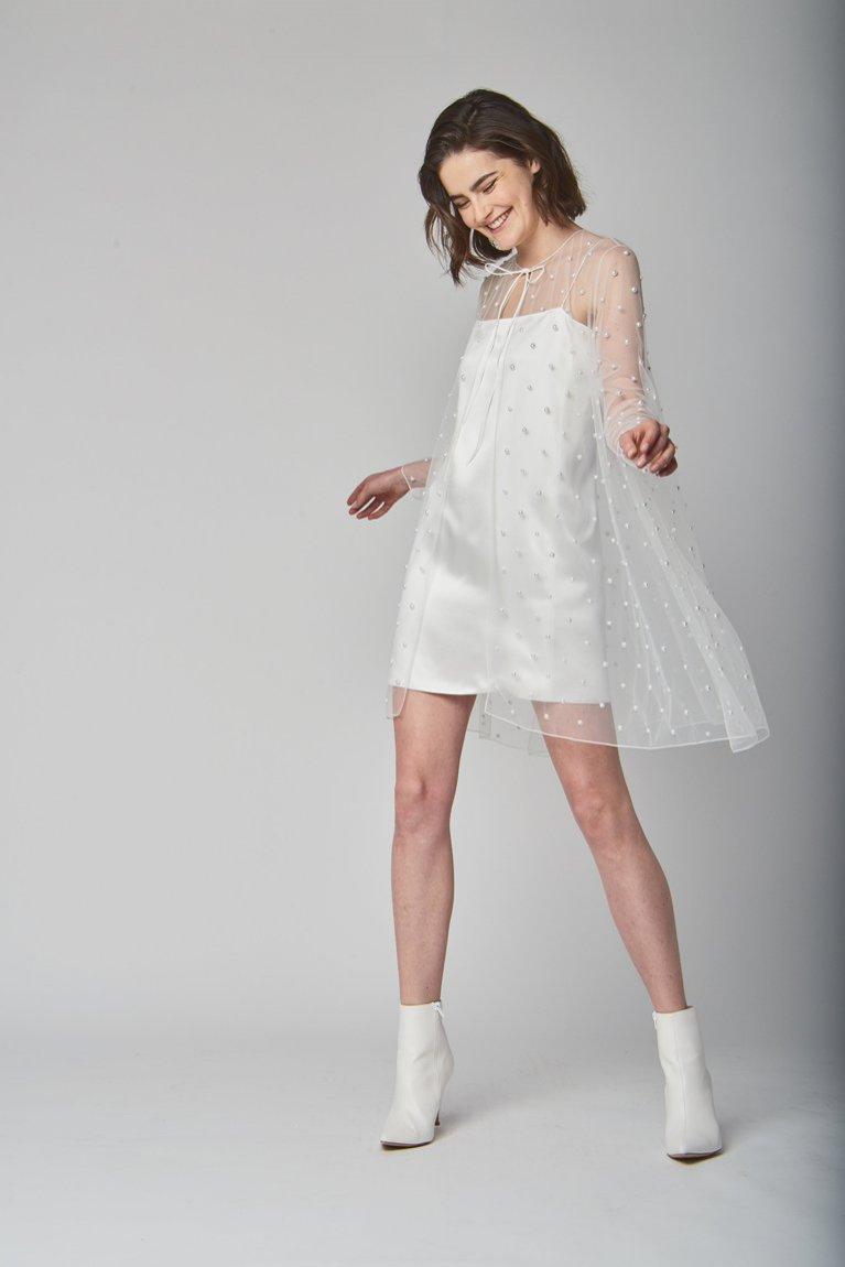 Krótka suknia ślubna Alexandra Grecco