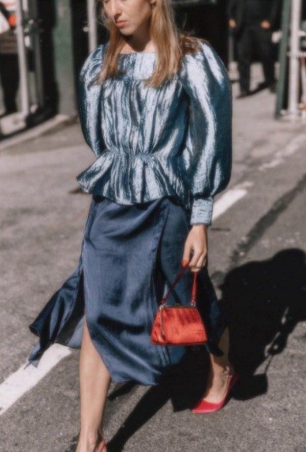 Alice Zielasko podczas New York Fashion Week SS18