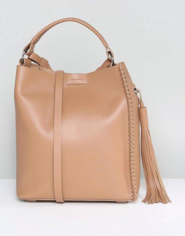 Skórzana torba, AllSaints, 173 funty