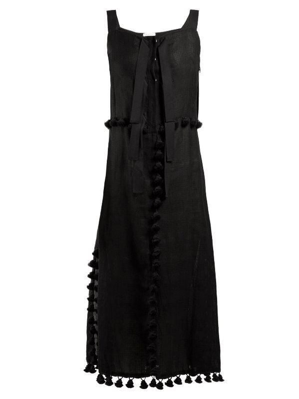 Czarna midi sukienka, Altuzarra, 1395 euro