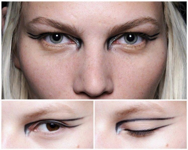Trendy jesień zima 2012/13 w makijażu  - Altuzarra
