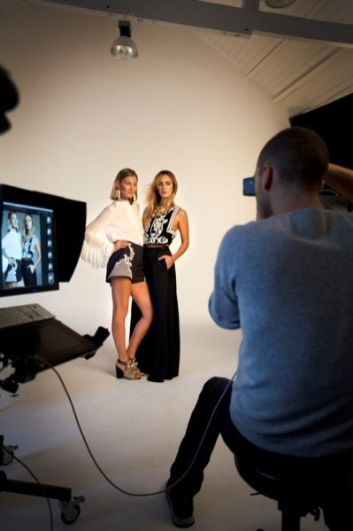 1. Amber Valetta twarzą kolekcji H&M Conscious wiosna 2014