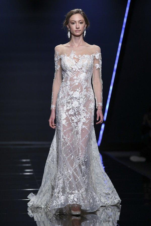 Suknia ślubna Amelia Casablanca - trendy jesień zima 2018/19