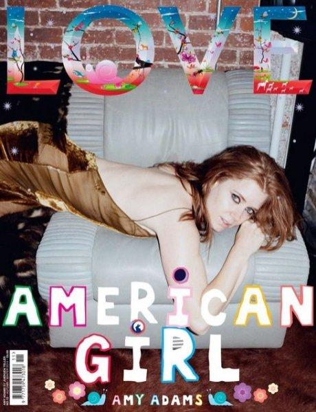 1. Amy Adams w sesji dla LOVE Magazine, jesień zima 2014/15
