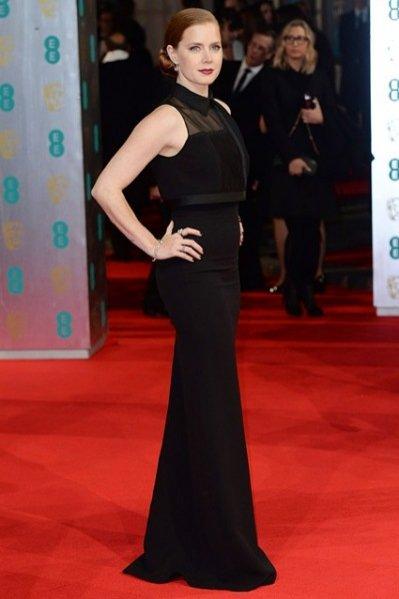 Amy Adams w sukni projektu Victorii Beckham