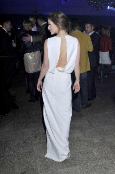 Ania Bosak w sukni Rina Cossack na Fotoerotica 2011
