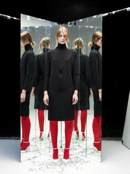 Ania Kuczyńska - lookbook kolekcji Glowing In The Dark jesień zima 2013/2014