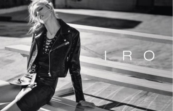 1. Anja Rubik w kampanii Iro wiosna lato 2016