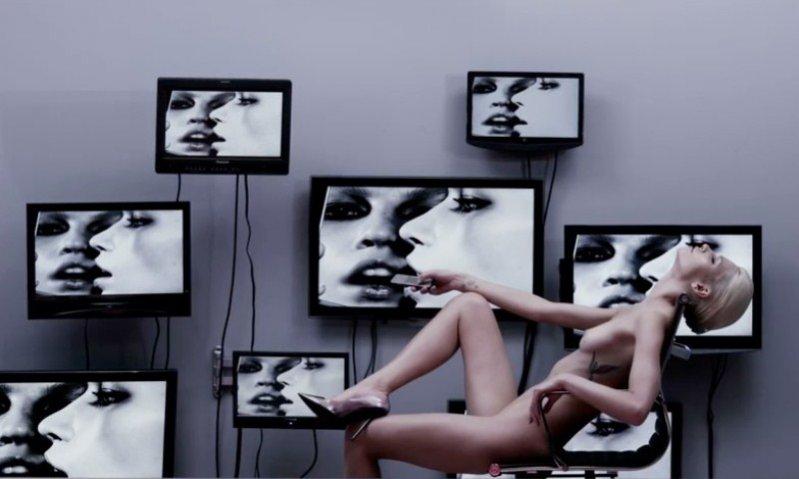 ujęcie z wideo promującego trzeci numer 25 Magazine