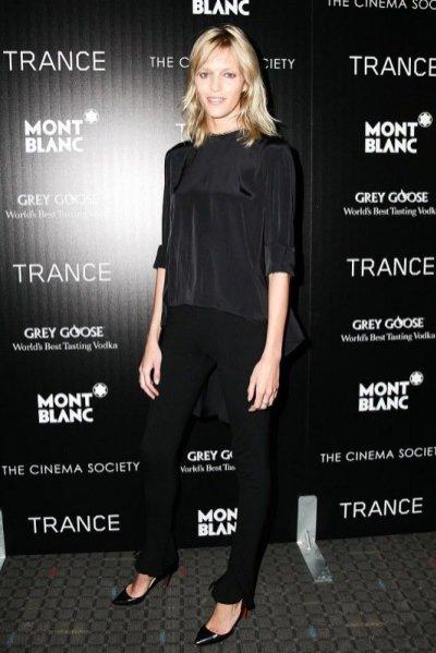 """Anja Rubik na premierze filmu """"Trance"""" w Nowym Jorku"""