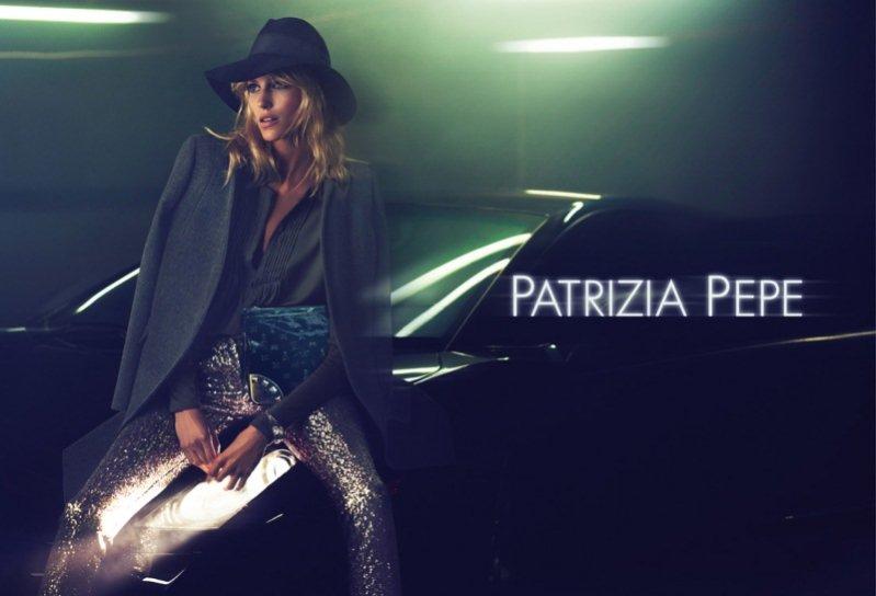 kampania Patrizia Pepe jesień zima 2012/2013