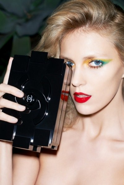 Anja Rubik w Purple magazine