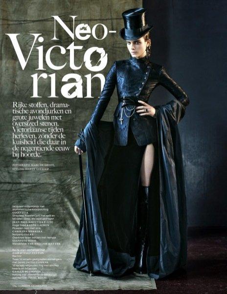 Anna de Rijk w halloweenowej sesji dla Vogue Nederland