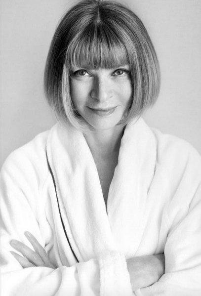 Anna Wintour w Towel Series Mario Testino