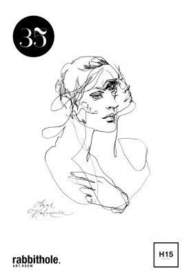 "ANNA HALAREWICZ: WYSTAWA ""35"" W RABBITHOLE ART ROOM"