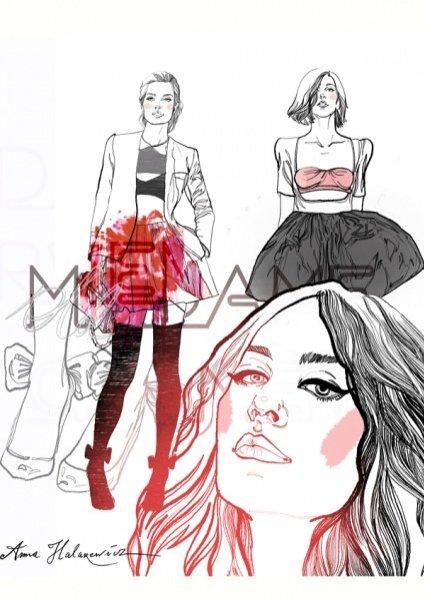 Anna Halarewicz dla Modo Magazine